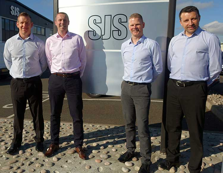 From left, Alan Timlin, Gary McGurk, Brian Drake and John Anderson