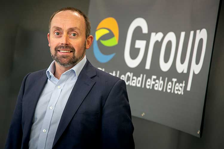 Neil McDonald, CEO and owner of eGroup