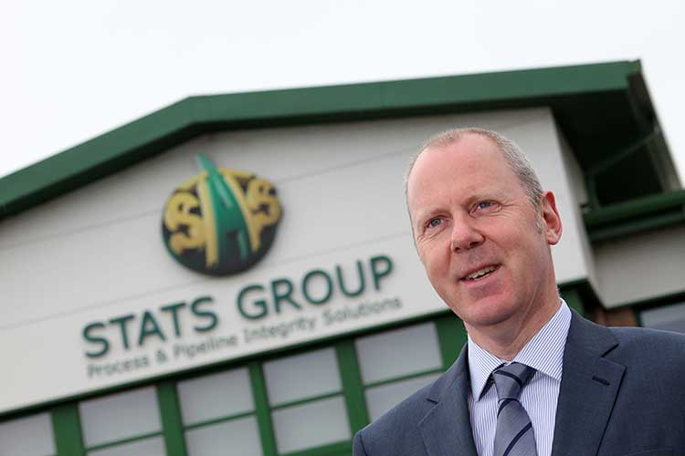 Leigh Howarth, STATS Group chief executive officer