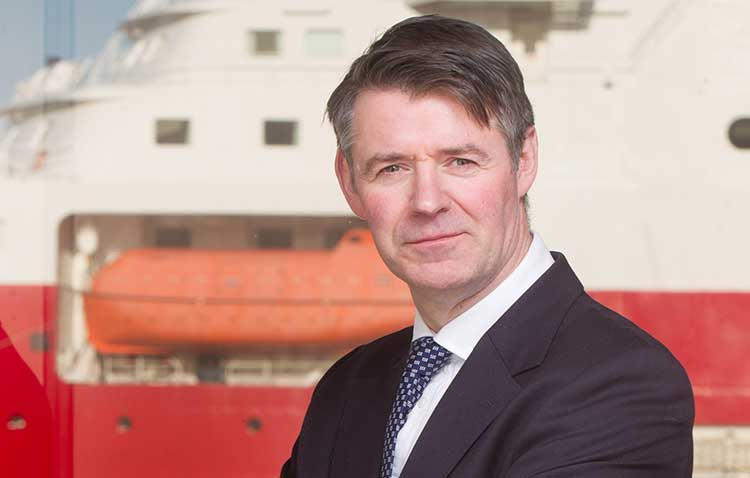 Nik Scott-Gray, chief executive at Montrose Port Authority