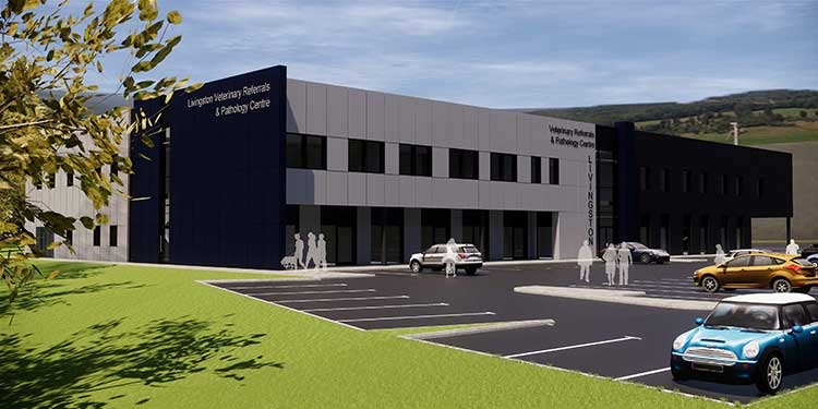 CVS Group's new veterinary hospital in Livingston