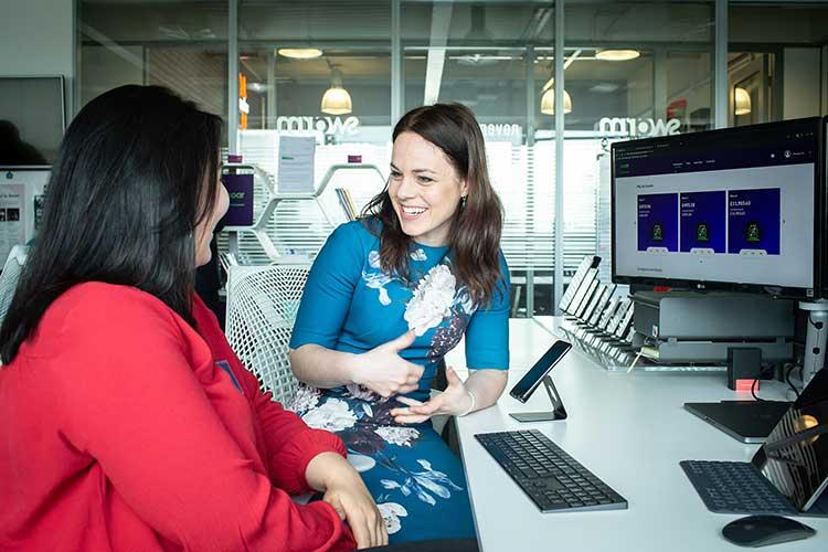 Kate Forbes MSP meets Soar's Eva Luckhiram