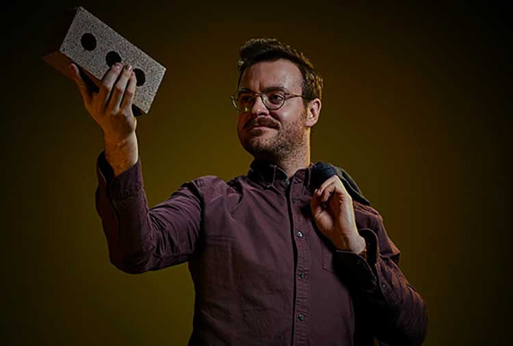 Dr Sam Chapman, a Royal Academy of Engineering Fellow, Heriot Watt University and winner of the Design and Creativity Awards at the 2018 Converge