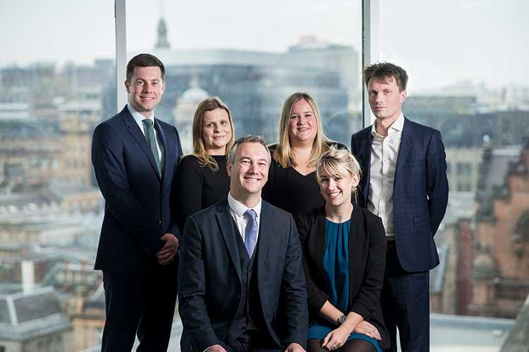 L-R: Michael Collins, Joanna Sykes, John Paul Sheridan, Alison Smith, Sarah Ainslie and Michael McDougall