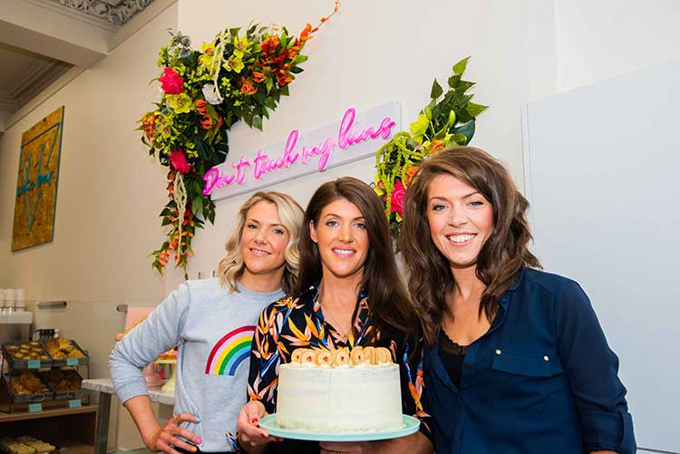 Three Sisters Bake launch Cake Bar in Glasgow