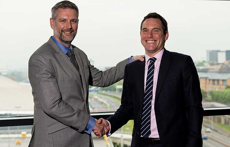(l-r) Graeme Finnie Managing Partner and Iain Walker Corporate Advisory Partner French Duncan