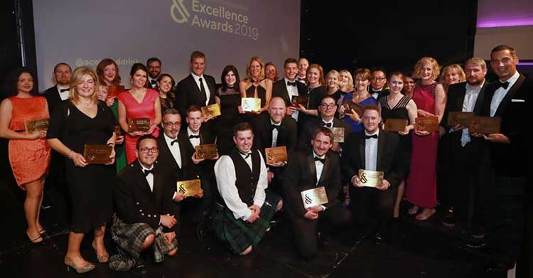 The winners at the 20th Scotland Food & Drink Excellence Awards