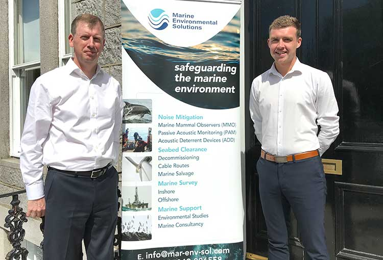 Steven Alexander, Managing Director and Greg Wood, Marine Operations Coordinator