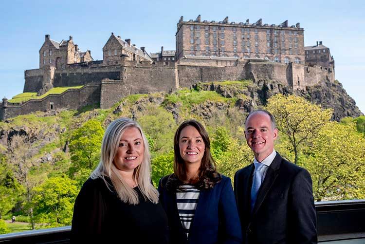 L-R: Terri Costello, Tax Director; Julie Gray, Pensions Advisory Director; Colin French, Tax Director.