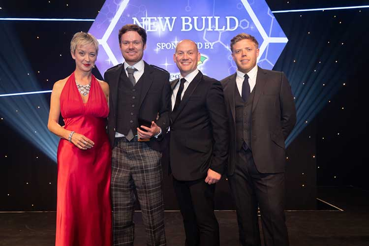 David Aitken, Mortgage and Protection Advisor at Mortgage Advice Bureau New Homes (second from left)