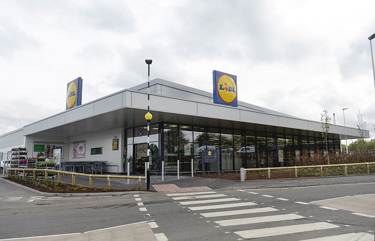 Lidl's newest Scottish store in Paisley