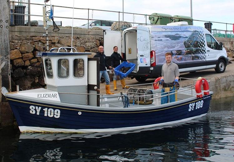 Neil, Iain and Stewart MacLean, Seas the Catch