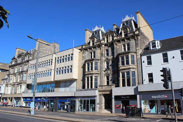 100-101 Princes Street, Edinburgh