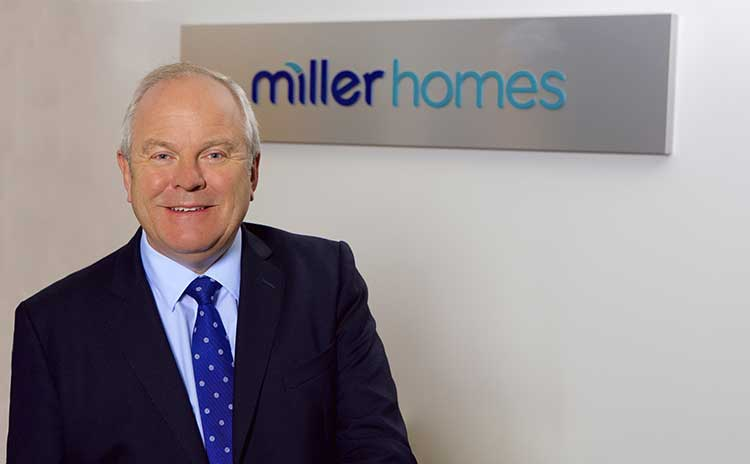 Chris Endsor, Chief Executive, Miller Homes