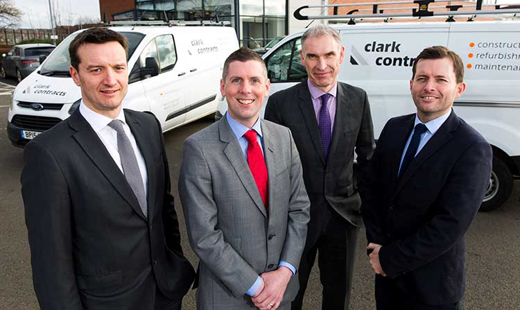L-R - Gordon Cunningham, Gerry Cummins, John Mooney and Michael Scanlan