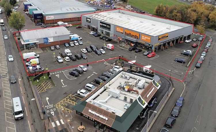 Craigentinny Retail Park