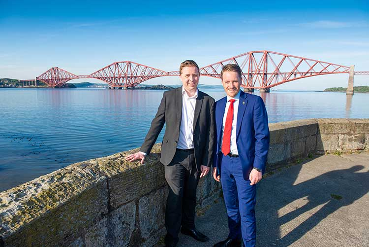 From left - Neil Wheelan and Paul McCabe