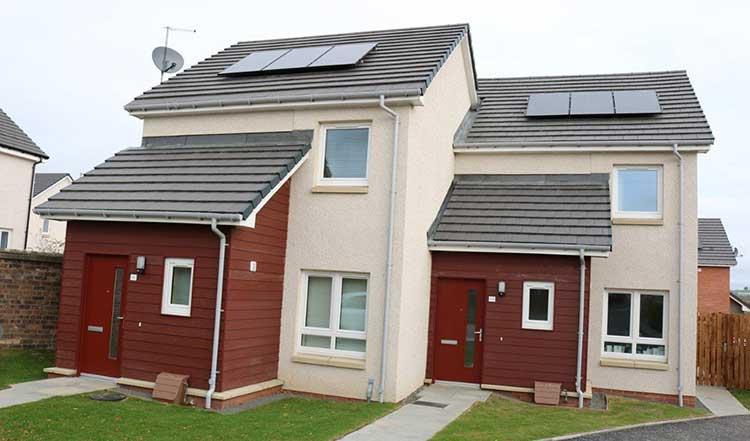 Fife Housing Group Crombie development
