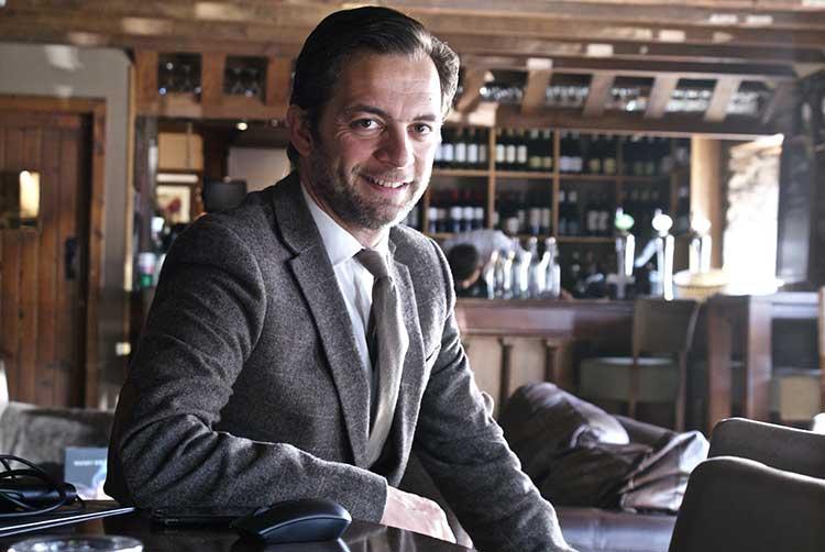 Glen Mhor Hotel General Manager Emmanuel Moine