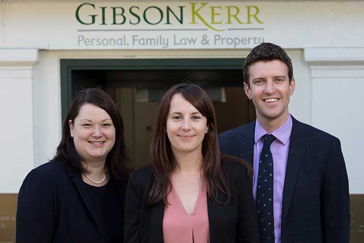 From left - Caroline MacBeath, Lindsay Maclean and Stuart Millar