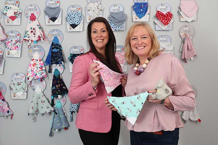 Left to right are Amy Livingstone and Julie Wilson of Cheeky Chompers (by Stewart Attwood)