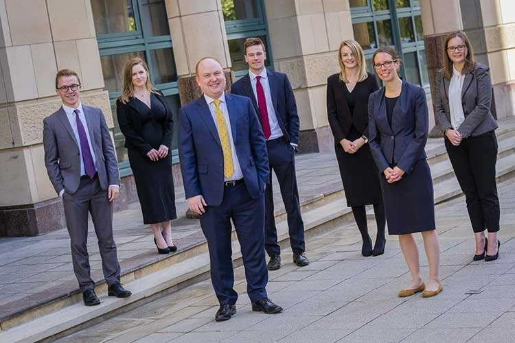 Some of Anderson Strathern's recently promoted partners and lawyers