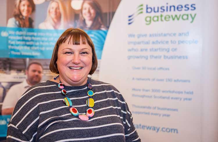 Susan Harkins, Head of Business Gateway Edinburgh