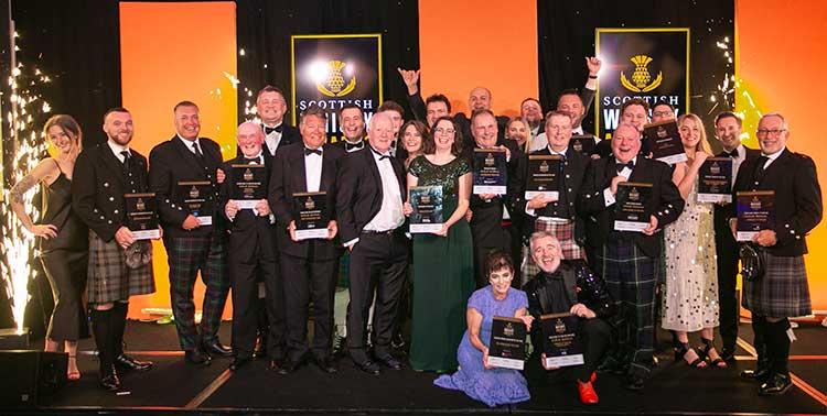 Winners at the Inaugural Scottish Whisky Awards