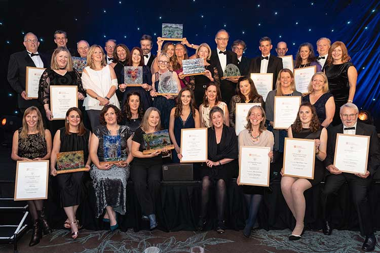 The winners from this year's Helping It Happen Awards