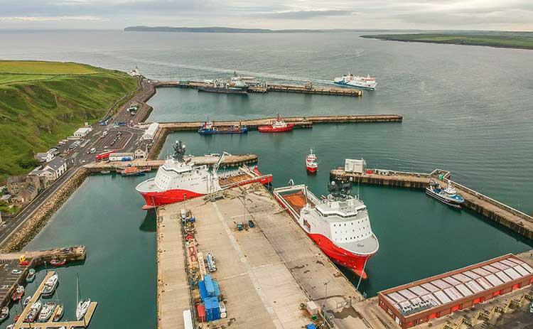 Scrabster harbour