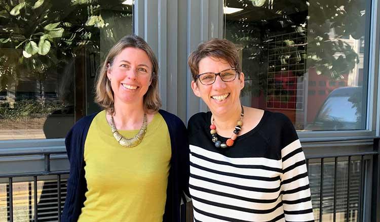 Ailsa Cook and Sarah Morton
